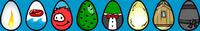 Easter Egg Hunt 2008 eggs