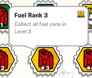 Fuel rank 3 stamp book