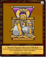 Mission 10 Medal full award
