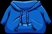Blue Hoodie clothing icon ID 4009