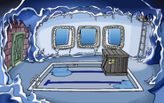 Puffle Party 2010 construction Underground Pool