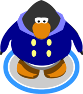Blue Duffle Coat ingame