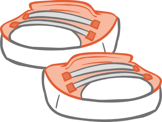 File:Peach Sneakers icon.png