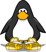 Gold Sneakers PC