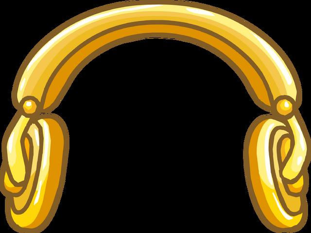 File:Golden Headphones.png