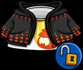 Puffle Flame Hoodie clothing ID 14151