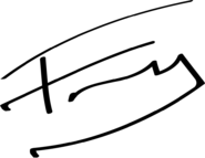 Franky New Signature