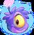 Purple Alien Puffle