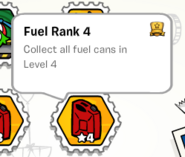 Fuel rank 4 stamp book