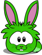 Puffle green1012 igloo