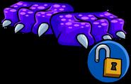 Purple Dragon Feet clothing icon ID 16069