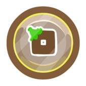 Brown O'berry Pin icon