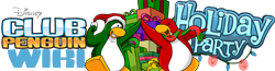 File:Ocean6100's entry for Holiday Party Club Penguin Wiki logo.png