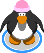 Pink Toque in-game