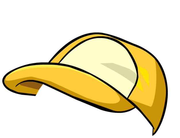 File:Yellow Baseball Cap5.png
