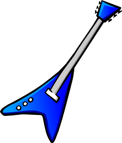 File:Blue Electric Guitar Icon 5063.png