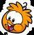 Orange Puffle Pin.png