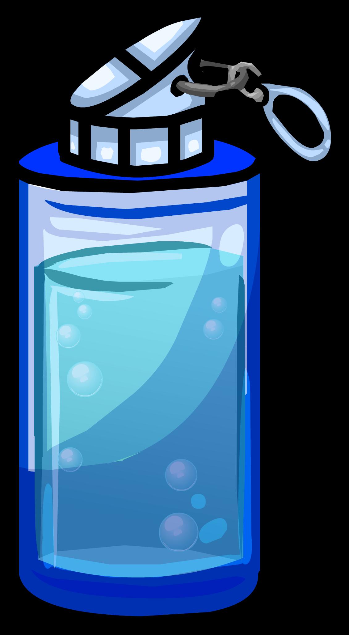 Blue Water Bottle | Club Penguin Wiki | FANDOM powered by ...Water Bottle Clip Art