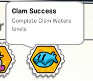 Clam success stamp book