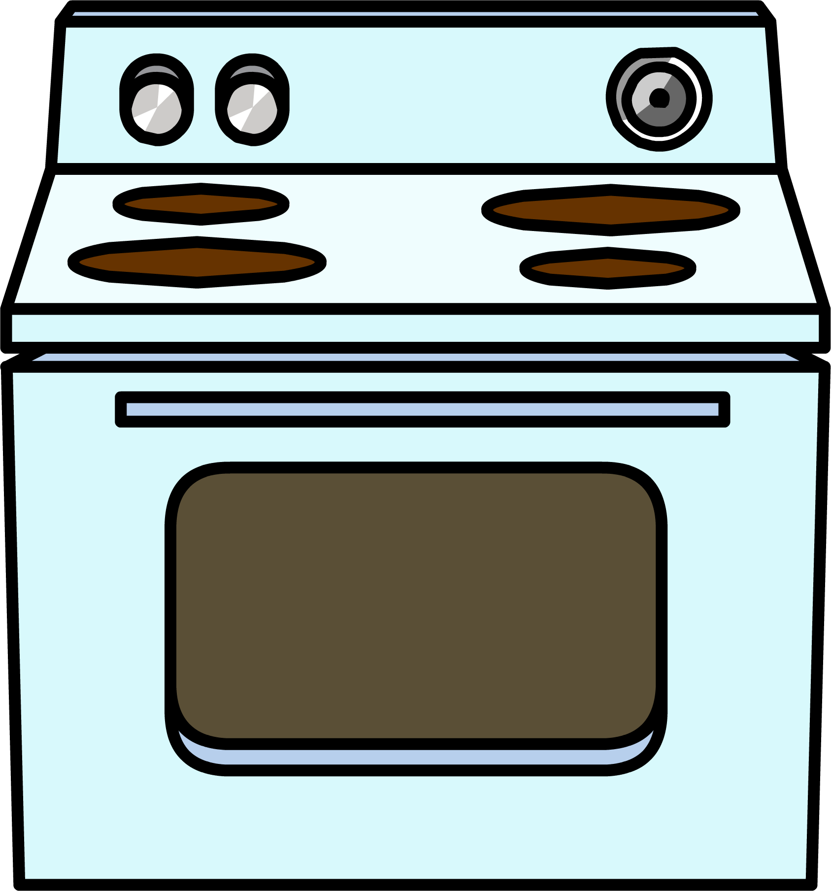 Cartoon Electric Cooker ~ Image electric stove club penguin wiki fandom