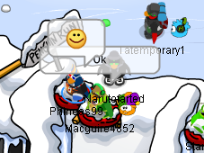 File:Fun wth Macgure Sled and others Puffle Party 2013