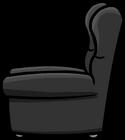 Plush Gray Chair sprite 003