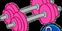 Pink Hand Weights
