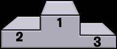 Winners Podium furniture icon