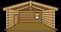 Log Cabin igloo icon ID 11