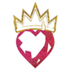 Decal Crowned Heart icon