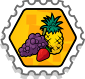 Fruitsplatterstamp