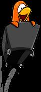 Mine Cart Penguin