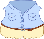 Lacy Shorts Outfit icon