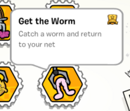 Get the worm stamp book