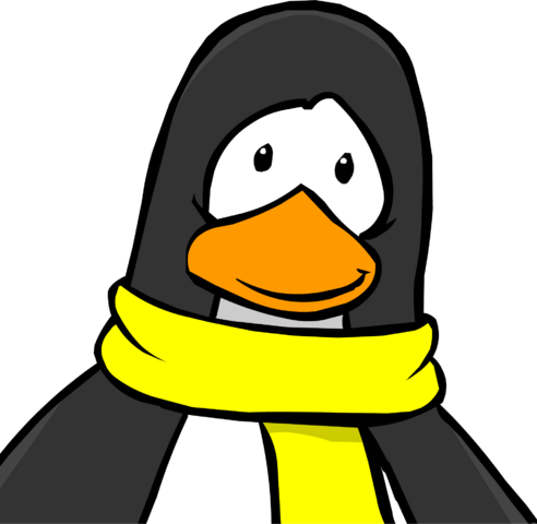 File:Black Penguin with Yellow Scarf 2005.png