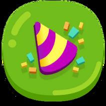 Party Supplies button