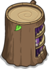 Stump Bookcase sprite 049