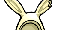 White Cocoa Bunny Ears