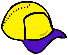 File:Yellow Baseball Hat.png