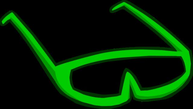 File:Green Sunglasses.png