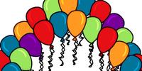 Balloon Arch Background