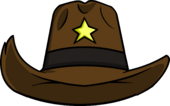 Puffle Care icons Head Sheriffstetson