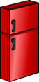 Shiny Red Fridge sprite 014