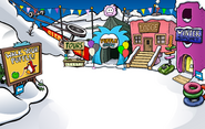 Puffle Party 2010 Ski Village