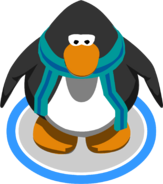 Blue Striped Scarf (3012) in-game