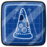Pizza Blueprint Pin icon