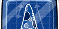 Pizza Blueprint Pin