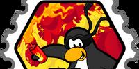 Fire Expert stamp