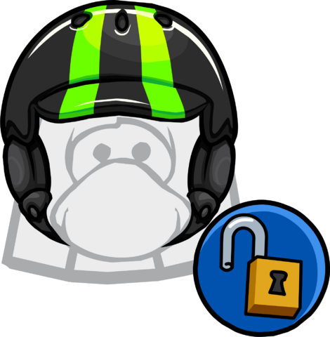 File:Neon Green Helmet clothing icon ID 11550.png