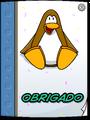 Card from Dancing Penguin full award front pt